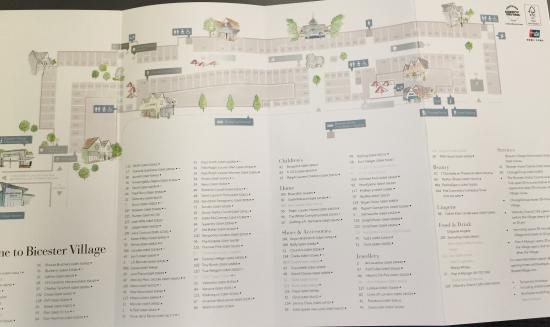 Bicester Village Map photo2.   Picture of Bicester Village, Bicester   TripAdvisor Bicester Village Map