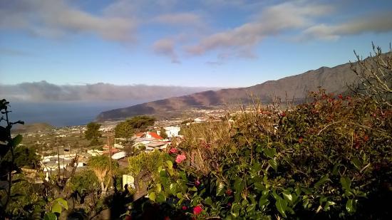 Finca Alcala: Blick von der Terrasse
