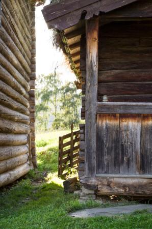 """Vågåmo, Norge: """"Old timber log buildings"""""""