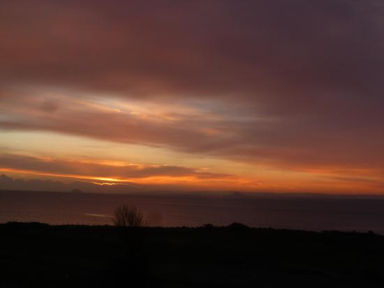 Lundin Links, UK: sunrise