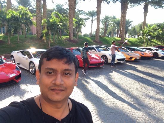 The Line Up Of Luxury Cars For Rental Picture Of Atlantis The