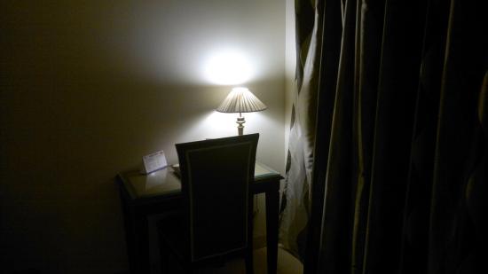 Om Tower: Inside room