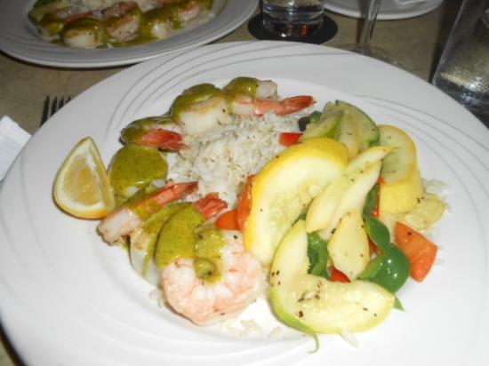 Mangoes : Island seafood
