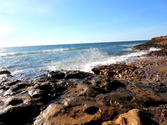 Cabo de Palos, Spagna: Orilla del mar