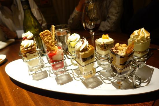 Bridgewater, Nueva Jersey: Dessert shots