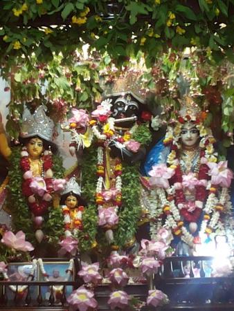 Sri Chaitanya Math deities