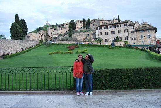 Hotel Berti: vista da San Francesco Superiore