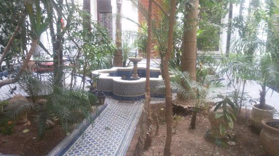 Riad Louna: Patio interior