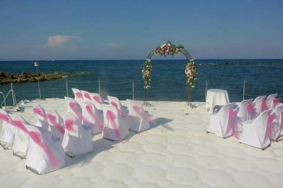 Planos, Grécia: View and wedding at alexandra beach