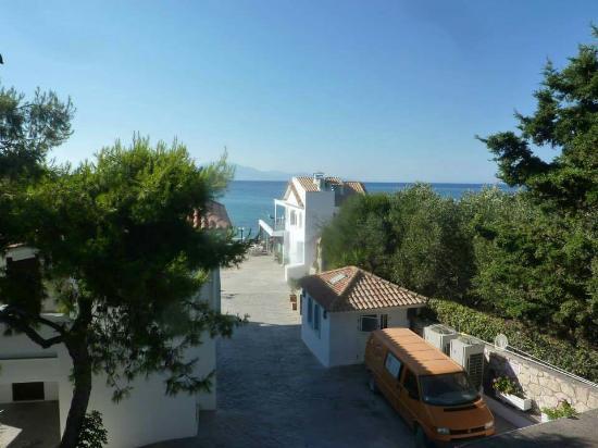 Планос, Греция: View and wedding at alexandra beach