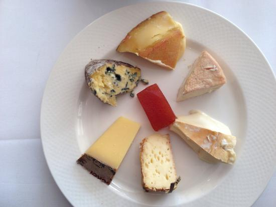 Chez Bruce: Optional cheese course
