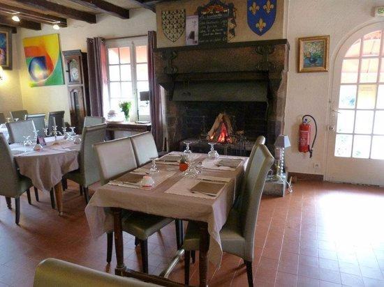 Kervignac, Francia: La cheminée l'hiver
