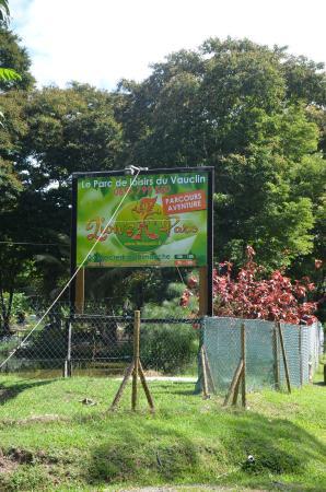 Le Vauclin, Martinique: Panneau du Parc