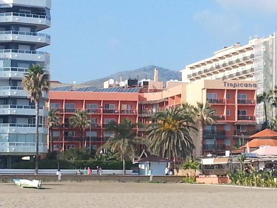 Hotel Tropicana: Vy från stranden