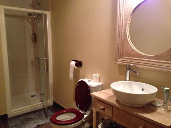 Le Lude, فرنسا: salle de bain