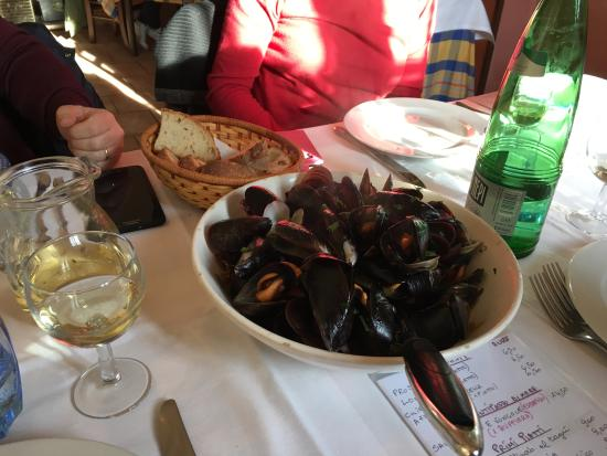 Canale Monterano, Italien: Mussles