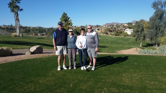 Desert Canyon Golf Club: Beautiful Day to Golf!