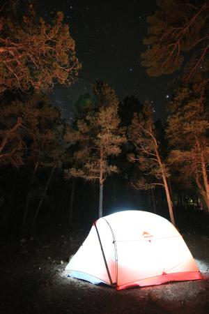 Mather campground fees with hookups