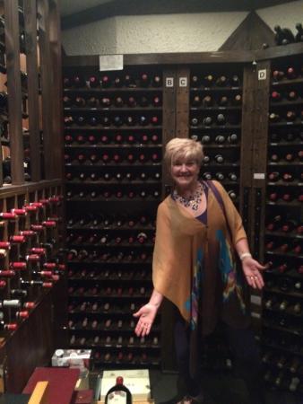 Yats Restaurant and Wine Bar: the wine cellar