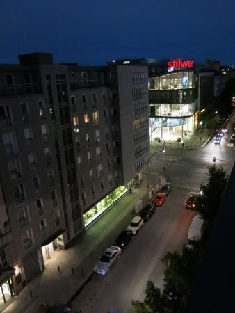 nigh balcony view picture of hampton by hilton berlin city west rh tripadvisor co za