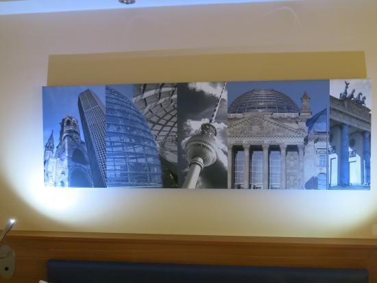 mural above bed picture of hampton by hilton berlin city west rh tripadvisor com