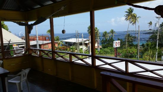 Two Seasons Guesthouse: View from the balcony