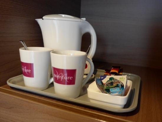 โรงแรม แมร์คูเรอ วีนซิตี้: Kaffee/Tee-Station