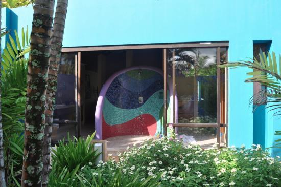Alma del Pacifico Beach Hotel & Spa: Shower!
