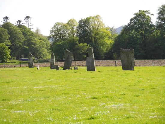 Kilmartin, UK: Stones...in a row