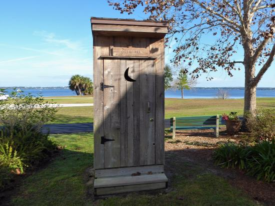 historic outhouse picture of clermont s historic village clermont rh tripadvisor com