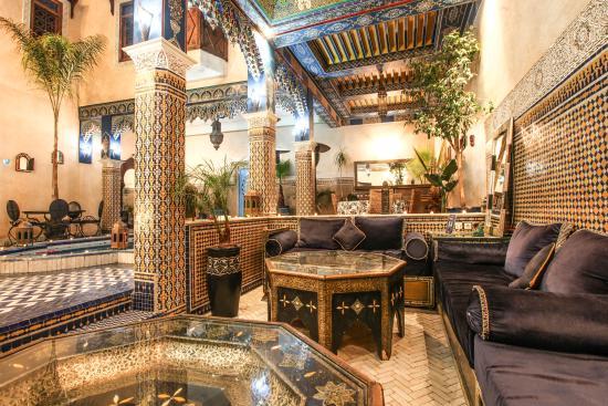 Riad Puchka Marrakech salon - Bild von Riad Puchka, Marrakesch ...