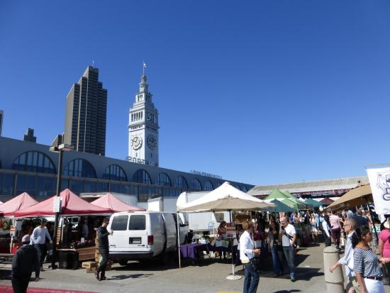Golden Gate Ferry: Markets by SF Ferry Terminal