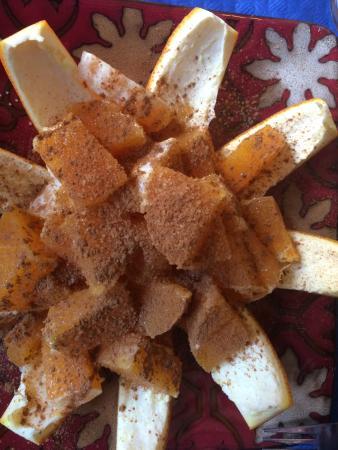 Jijona, Spanien: Orange in cinnamon