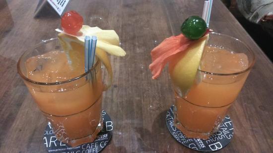 La Palma Princess & Teneguia Princess: tequila sunrise