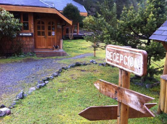 El Pangue Lodge: Entrada