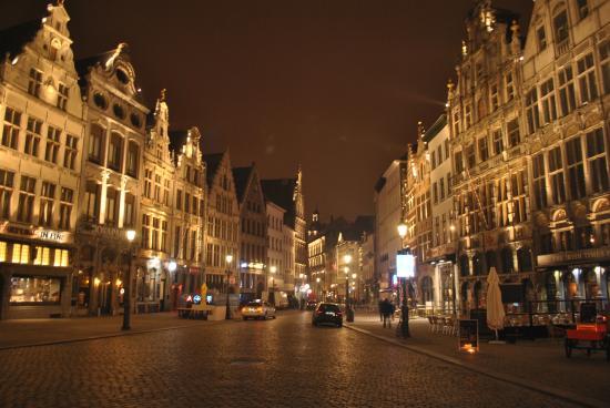 the beautiful Groenplaats