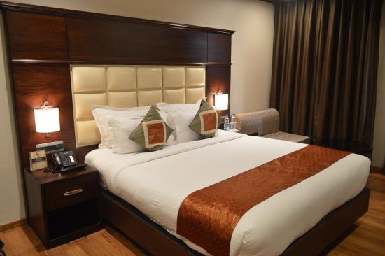 Hotel CH2  In room bed. In room bed   Picture of Hotel CH2  Srinagar   TripAdvisor