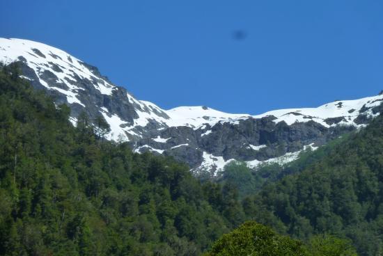 paisaje desde senderos del pangue lodge