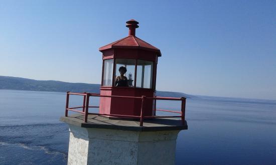 Sainte-Rose-du-Nord, แคนาดา: le phare