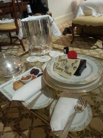 Four Seasons Hotel Firenze: Recepção de Lua de Mel