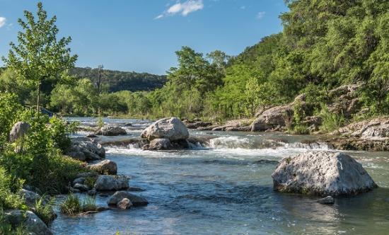 Gruene River Hotel & Retreat: Guadalupe River