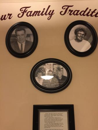 Santeramo's Pizza House & Italian Food : Santeramos Family Wall