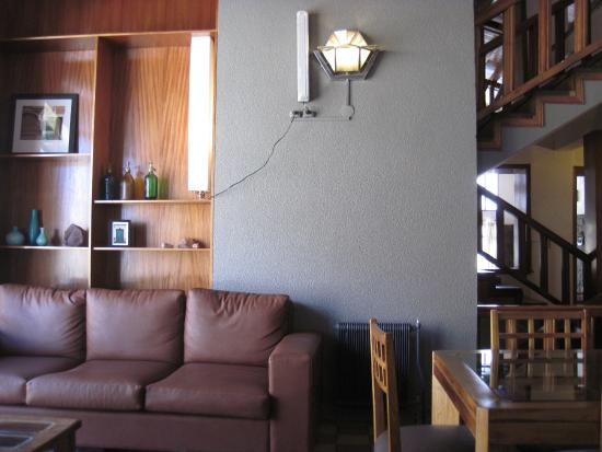 Los Penitentes, Argentina: Lounge, living room.