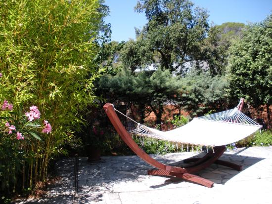 Villa Charme et Détente : Relaxing on Hammock