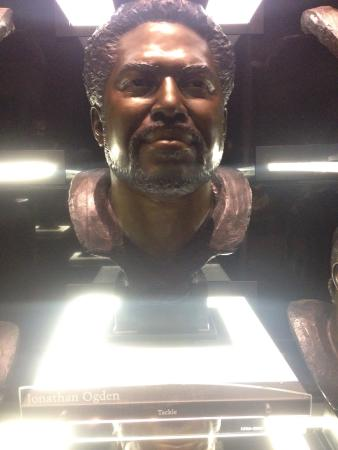 Pro Football Hall of Fame: Hall of Fame in Canton Jan 2016