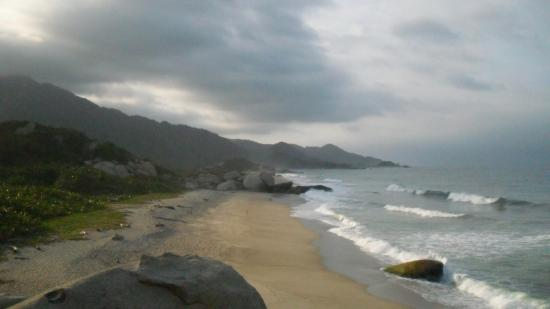 Camping Tayrona: beaches