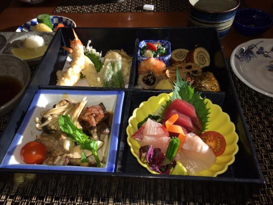 bento box picture of yamazato restaurant amsterdam tripadvisor. Black Bedroom Furniture Sets. Home Design Ideas