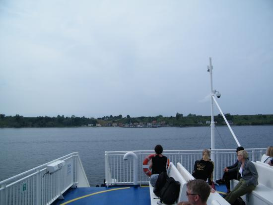 Ландскрона, Швеция: På väg in mot hamnen Bäckviken