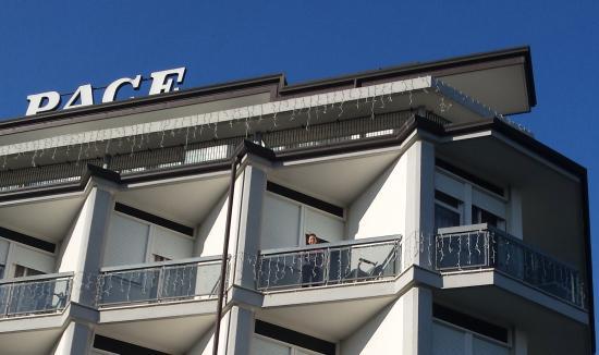 Hotel Terme Villa Pace: Particolare terrazza