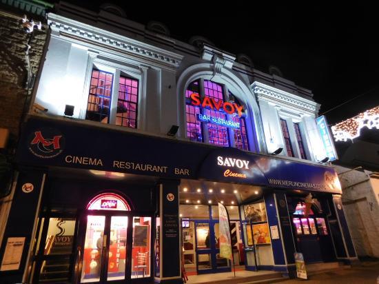 Savoy Cinema Penzance: outside the cinema